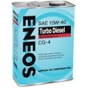 15W-40 CG-4 ENEOS TURBO DIESEL (4л)