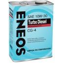 10W-30 CG-4 ENEOS TURBO DIESEL (4л.)