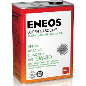 5W-30 SM ENEOS SUPER GASOLINE (4л.)