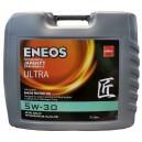 Полностью синтетическое универсальное моторное масло ENEOS Ultra 5W30 API SN ACEA C3 20л