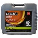 Синтетическое моторное масло ENEOS Ultra S 0W30 C2  20л