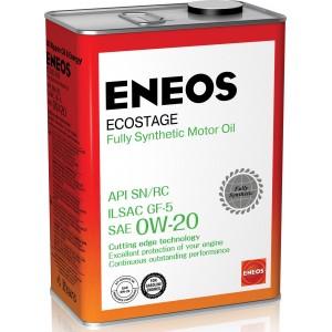 0W-20 SN ENEOS ECOSTAGE (4л.)